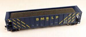 Roundhouse 50' 5 Bay Rapid Discharge Hopper BM&LP #114 1/87 HO Scale #4 NO BOX