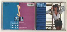 Cd single SABRINA SALERNO Sabrina OTTIMO 1988 Cds singolo My Chico