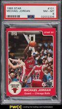 1984-85 Star Basketball Michael Jordan ROOKIE RC #101 PSA 8 NM-MT