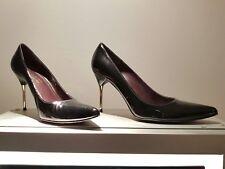 Stuart Weizman Ladies Black Patent Stilleto Shoes