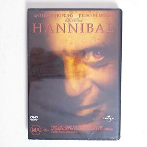 Hannibal DVD Movie Region 4 AUS Free Postage Thriller Anthony Hopkins