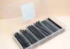 Schrumpfschlauch-Sortiment, 100-tlg Set-Box, schwarz Schrumpfschläuche Set-Box