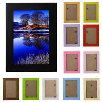 5''-8'' Photo Frame Retro Home Decor Wooden Picture Wall Mounted Hanging Frame D
