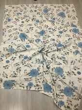 Vintage Finlayson Curtains Fabric  2 pc Floral Print  Printed in Finland