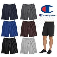 NEW Authentic Champion Men's Cotton Shorts with Pockets/ 9 inches Inseam