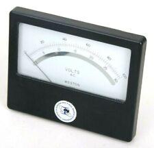 Vintage Weston Alternating Current Volts Meter Gauge 0 1000 30 Model 1952