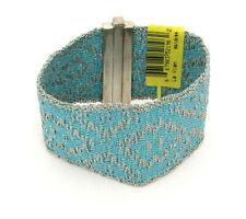 New Le Vian Sterling Silver Woven Bracelet 7 Inch Reversible