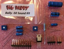 Capacitor/Component Repair Kit for Bally AS-2518-50 Sound Boards - Free US ship