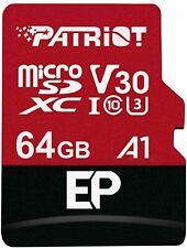 Patriot MicroSD 64GB EP Series A1 V30 90MB/s Read 80MB/s Write Memory Card ct UK