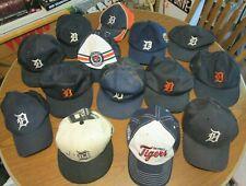 New listing 14 Detroit Tiger Vintage Hats Snapback Orange D Mcdonalds Mixed Lot L@K