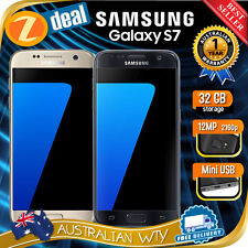 (AU STOCK) SAMSUNG GALAXY S7 SM-G930F UNLOCKED PHONE (12MTH AUS WARRANTY) *W3*