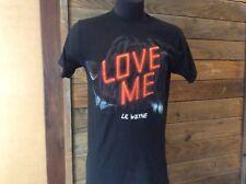 """Lil Wayne """"Love Me"""" Tour Shirt Adult Medium"""