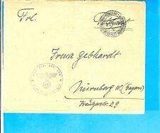 B & M/Wischau DDP b&m B 18.2.41, k2 A. FP-lettre