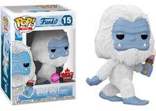 Snowy Bigfoot Fan Expo Canada Funko Exclusivo Flocked Myths Pop