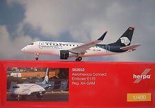 Herpa Wings 1 400 Embraer E170 Aeromexico - Avión Connect Xa-gam 562652
