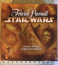 STAR WARS TRIVIAL PURSUIT Classic Trilogy Collector Edition Pewter pieces-UEC