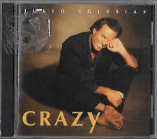 Crazy by Julio Iglesias (CD, May-1994, BMG (distributor) Brand New Sealed!