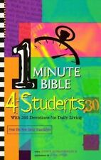 One Minute Bible for Students: With 366 Devotions for Daily Living
