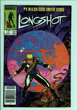 Longshot 1 - 1st Appearance - Newsstand - X-Men - 7.5 VF-