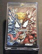 2017 Marvel Premiere Venom / Carnage Sketch Card 1 of 1 Artist Proof Ray Racho