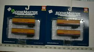 Lot 9-178 * HO Scale Walthers Scenemaster 2 x 949-2406 35' Trailer 2 pks -  UP