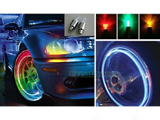2Pcs LED Tyre Wheel Valve Caps Vibration Sensor Lights Not included Batteries