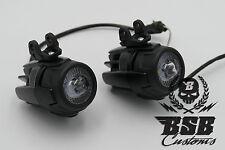 LED Zusatzscheinwerfer für R 1200GS 1150 GS F 800 650 schwarz oder indiv.Einbau