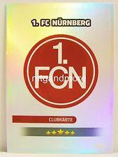 Match coronó 2016/17 2. liga - #436 1. FC Núremberg-club mapa/escudo