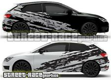 Seat Leon FR Cupra Rally 007 racing shredded  graphics stickers decals vinyl