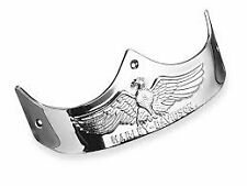 New OEM Harley-Davidson  Fatboy Rear Fender Eagle Trim Chrome