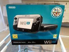Nintendo Wii U (Aktuellstes Modell)- Premium Pack 32GB Schwarz Spielekonsole (PAL)