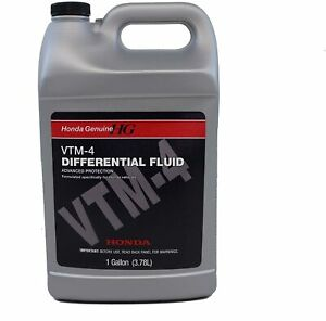 Genuine Honda Fluid 08200-9003 VTM-4 Differential Fluid - 1 Gallon Bottle New