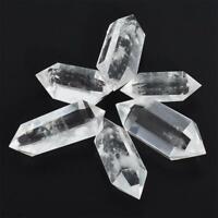 Natürlicher Fluorit Quarz Stein Fluorit Punkt Heilung Hexagonal Zauberstab