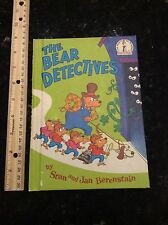 Dr. Seuss Berenstain Bears VINTAGE The Bears Detectives hardcover #5