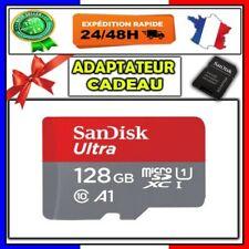 Carte Mémoire ✓  Micro SD SDHC  Class10 128 Go GbClass 10 - Original Sandisk ✓