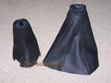 FOR 95-02 LAND ROVER RANGE ROVER P38 BLACK LEATHER CUSTOM SHIFT E BRAKE BOOT