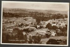 Postcard Tiverton Devon view of town From South RP