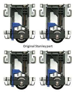 4 X UPGRADED  Spacepro Stanley Sliding Door Bottom Roller 17-4264Y