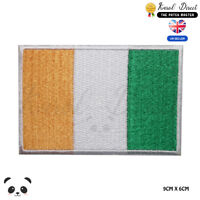 Ireland National Flag Embroidered Iron On Sew On Patch Badge For Clothes etc