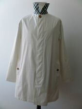 Men's BURBERRY LONDON White Trench Coat / Mac - SIZE M