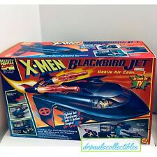 Toy Biz Marvel X-Men BLACKBIRD MOBILE COMMAND JET Used 100% Complete Rare 1994