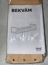 IKEA BEKVAM Wooden Spice Rack Wooden Bookshelf NEW 400.701.85