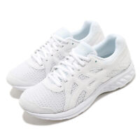 Asics Jolt 2 D Wide White Women Running Casual Shoes Sneakers 1012A188-100