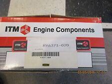 ITM RY6371-020 Engine Piston Kit w/Rings Chevy & Isuzu 1.9