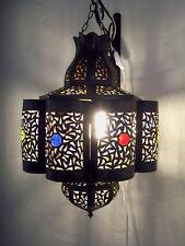 Lustre Marocain fert forgé lampe lanterne plafonnier applique luminaire orient 6