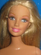 Frosted Blond Barbie-Waist Length Hair-Nude For Ooak
