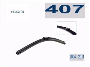 Windscreen Wiper Blades suit Peugeot 407  2004 - 2011  (PAIR