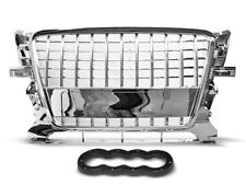 NEW FRONT GRILL GRAU17 AUDI Q5 SUV 2008 2009 2010 2011 2012 CHROME S-LINE STYLE