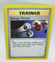 Rare Pokemon Card Trainer Energy Charge 85/111 1995 - 2000 Nintendo