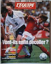 L'Equipe Magazine 15/6/1996; Kafelnikov/ Foot Anglais/ Michael Johnson/ Carl Lew